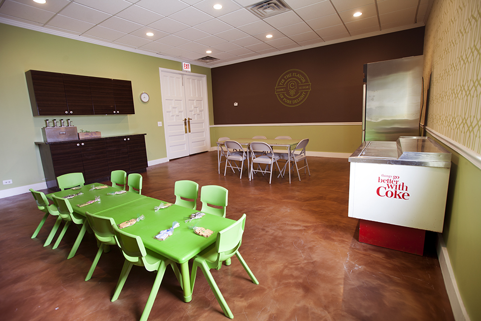 Host Your Party At Cone!